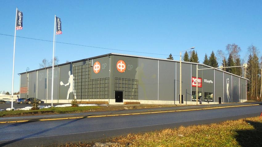 Mustasaaren uusi urheiluhalli OP-Arena on valmistunut   WasaGroup Funds